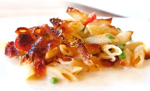 Pastagratin ohne Vorkochen